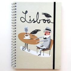 Note book  illustrations by Afonso Cruz