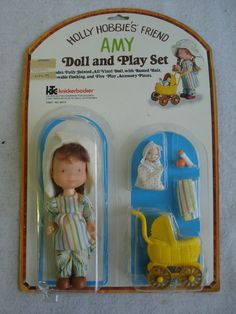 vintage doll 1970s  I had this!  (might still have the doll and baby)