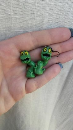 Ursula's Poor Unfortunate Souls Polymer Clay Earrings by GeorgiaPeachDes on Etsy