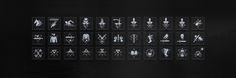 ArtStation - THE WITCHER 3 UI ART: ICONOGRAPHY, Fernando Forero