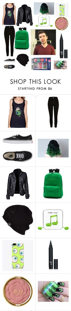 """""""JackSepticEye"""" by ladytaurus-queengrizzly ❤ liked on Polyvore featuring Vans, UGG Australia, Happy Plugs and Milani"""