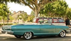 Chevy II. They don't make them like this anymore!