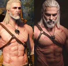 The most realistic Geralt cosplay brings the Witcher to life like never before. Warning: content may be considered NSFW, but the scars look real - See more at: http://cogconnected.com/news/#sthash.6NhVNYbO.dpuf