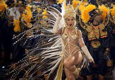Celebrations mark the official start of Carnival in Rio de Janeiro, Brazil | У Бразилії офіційно стартував знаменитий Карнавал в Ріо-де-Жанейро.