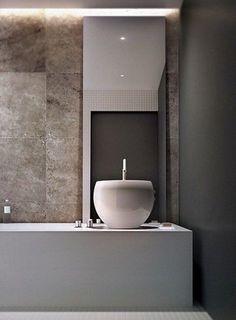http://ComfyDwelling.com » Blog Archive » 105 Minimalist Bathroom Decor Ideas That Inspire