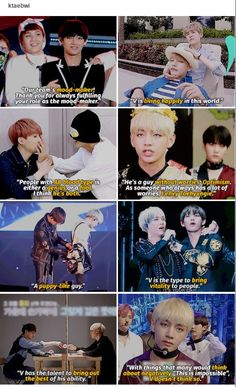 Yoongi's sweet words about tae