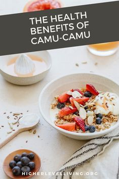 Today I'm sharing about the healthy benefits of a supplement called, Camu-Camu, which has gained popularity due to its many health benefits. Muesli, Granola, Superfood Supplements, Healthy Blood Pressure, Shakeology, Medicinal Herbs, Health Benefits, Whole Food Recipes, Health And Wellness