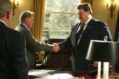 """West Wing """"Twenty Five,"""" featuring John Goodman--yes, Dan Conner--as temporary President, Glenallen Walken"""