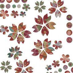 Confectionnez des fleurs en papier inspirées des motifs japonais et faites en des aimants, à mettre sur un réfrigérateur par exemple. Sur Marie Claire Idées.