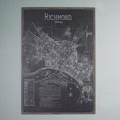Reproduction Richmond Map