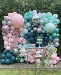 Top 20 Creative Balloons Wedding Decor Ideas Top 20 Creative Balloons Wedding Decor Ideas pink and blue balloons wedding reception decor ideas 6 Birthday Balloon Decorations, Birthday Balloons, Baby Shower Decorations, Wedding Decorations, Shower Centerpieces, Balloon Backdrop, Balloon Wall, Balloon Garland, Balloon Columns