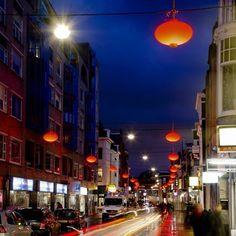 lampionnnen Chinatown Den Haag