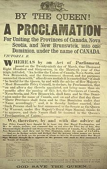 Proclamation of Canadian Confederation: Modern Canada was created on July 1867 when five formerly separate provinces joined together into one federal union. Canadian Things, I Am Canadian, Canadian History, Canadian Rockies, Canadian Facts, Canadian Holidays, Samuel De Champlain, Province Du Canada, The Province