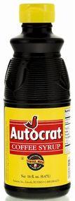 Autocrat Coffee Syrup 3-32 oz. (Quart Size) Bottles