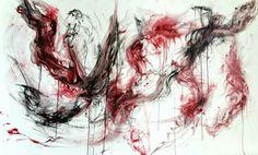 Tecnica mista su tela,160x95 cm. #mywork #workinprogress #philosophy #colors #shadows #art #gallery #passion #contemporaryart #red #black #canvas #situations