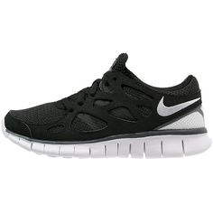 outlet store a923d d73d9 Nike Sportswear FREE RUN 2 Trainers white dark grey ( 145) ❤ liked