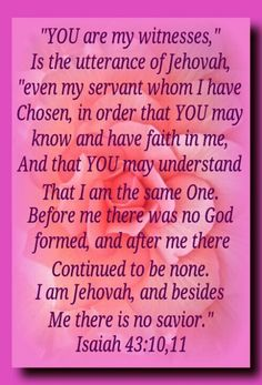 Isaiah 43 10 Jehovah - Bing images