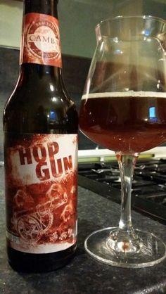 Brauerei Camba Hop Gun Brown Ale #craftbeer #realale #ale #beer #beerporn…