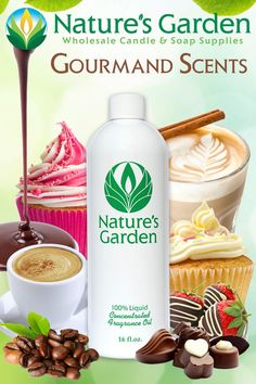 Gourmand Scents- Bakery Scents by Natures Garden
