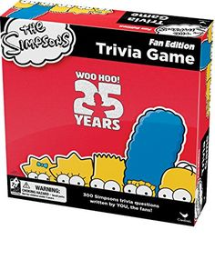 Simpsons Trivia Game