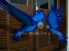 arara azul móbile
