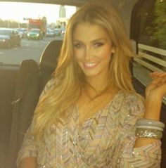Delta Goodrem - I have this dress too! So girly & summery ☀