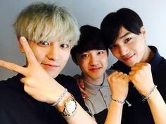 Chanyeol, D.O., and Kai
