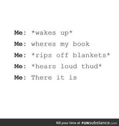 FunSubstance - Funny pics, memes and trending stories I Love Books, My Books, Books To Read, Book Memes, Book Quotes, Book Of Life, The Book, The 5th Wave Book, Funny Relatable Memes