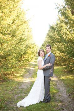 Bride and Groom - Kitschy Antique Wedding