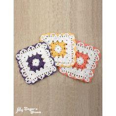 Free Crochet Starfish Dishcloth Pattern : Starfish Dishcloths By Mary Ann Frits - Free Crochet ...