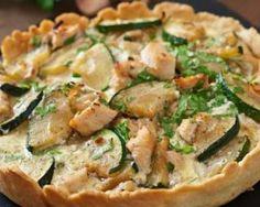 Mini quiches minceur courgette et poulet en croûte de Spécial K : http://www.fourchette-et-bikini.fr/recettes/recettes-minceur/mini-quiches-minceur-courgette-et-poulet-en-croute-de-special-k.html