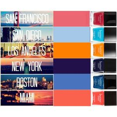 The City Never Sleeps Tonite by lifeaskaleidoscope on Polyvore featuring beauty and Butter London