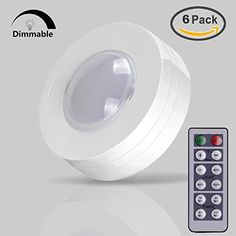Lightmates wireless led puck lights rp 005 yo9rp 005 2 remotes 10 more information aloadofball Gallery