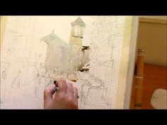 """▶ Annemarie Bourke Tests """"Two Rivers""""Hhandmade Watercolour Paper - YouTube"""