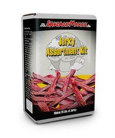 Jerky seasoning assortment kit by The Sausage Maker