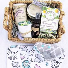 New Mom & Baby Organic Gift Baskets restocked today! These sell out fast!