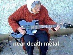 Near death metal.  Http://www.guitarfresh.com