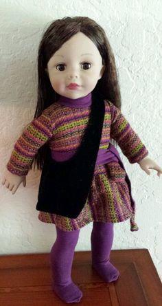 "Madame Alexander 18"" Doll 2007 Brown eyes #MadameAlexander"