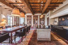 Rustic-modern kitchen