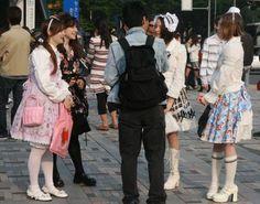 "Tokyo : les ""costume players"" à Omotesando"
