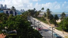 Praia do Cabo Branco. 2015 Cabo, Sidewalk, Sunrise, Islands, City, The Beach, Side Walkway, Walkway, Walkways