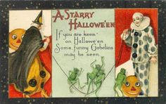 Google Image Result for http://www.clownpostcards.com/Halloween%2520Clowns/slides/A%2520Starry%2520Halloween.JPG
