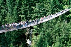 Things-to-do-with-kids-in-Vancouver-Capilino Suspension Bridge