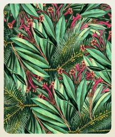 Floral tropical | Pattern,Logo,Art,Things