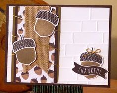 Trinity Designs: #Thankful29 Project - A Card a Day in November! (Day 3)