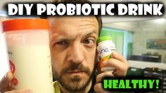 DIY Homebrew Probiotic Drink Is it possible to make your own probiotics for virtually nothing? Yes it is! http://youtu.be/fTlMRnaJrPA
