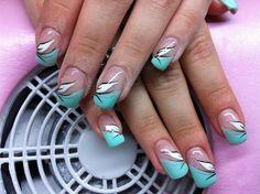 Die 51 Besten Bilder Von Nageldesign Grau French Tips Nail Art