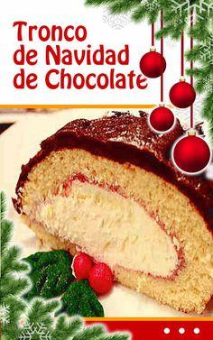 #Tronco de #Navidad de #Chocolate