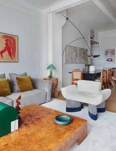 Inspirational modern home interior design trend ideas 30 Living Room Designs, Living Room Decor, Living Spaces, Living Room 90s, Dining Room, Retro Living Rooms, Living Room Seating, Interior Design Inspiration, Room Inspiration