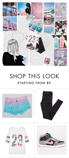 """""""my enemy is a friend of mine."""" by gintare-13 ❤ liked on Polyvore featuring California Love, H&M, NIKE, xO Design and Arteriors"""